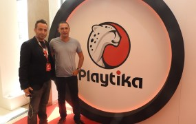 Elad Kushnir (left) and Robert Antokol of Playtika.