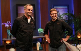 Charles Manning and JD Claridge of xCraft on Shark Tank.