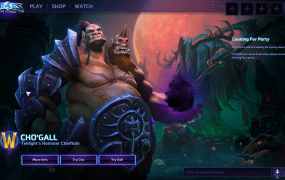 Cho'Gall is actually two characters in one, each played by a different player.