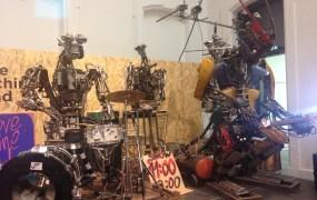 The One Love Machine Band by Berlin artist Kolja Kugler.