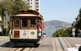 Muni Cable Car at San Francisco, CA