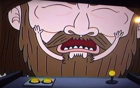 The GBF character from The Regular Show.