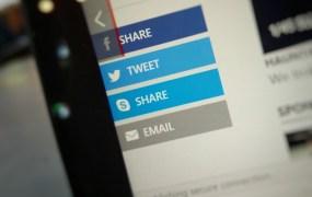 Skype Share Button