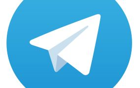 The Telegram logo.