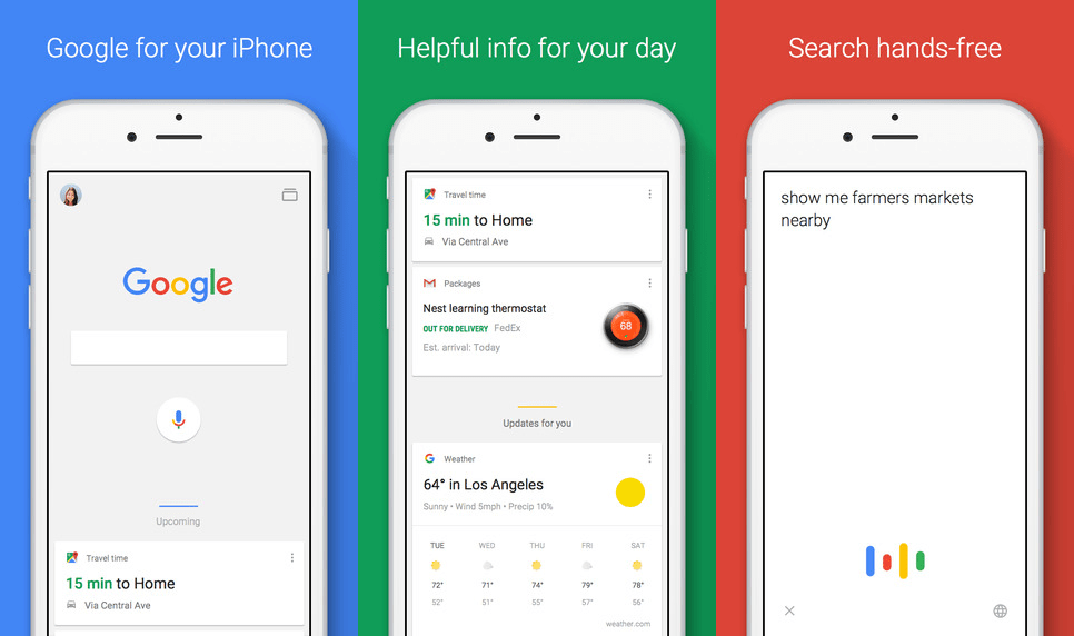 how to install google voice search on iphone