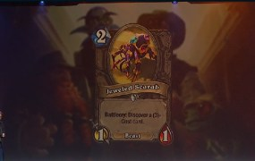 New Hearthstone card.