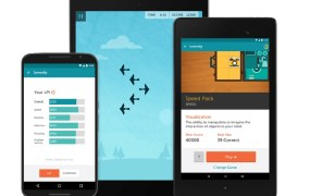 Lumosity features more than 40 brain-training games.