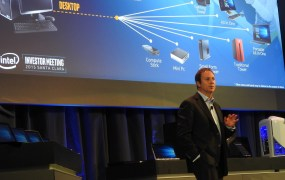 Kirk Skaugen, head of the Client Computing Group at Intel.