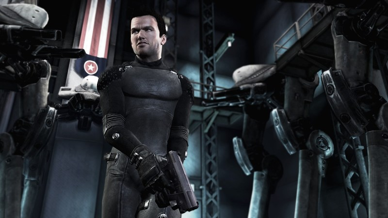 Shadow Complex Remastered character.
