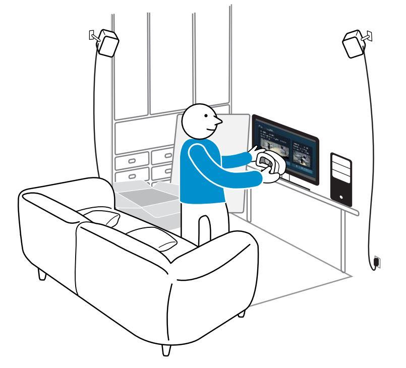 diagram of room setup