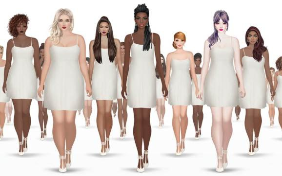 3d Wallpaper Online Shopping India Covet Fashion Mobile Game Adopts Diverse Female Body