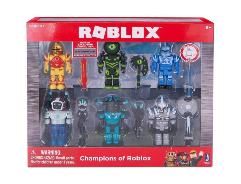 Roblox Launches Toys Based On Its User Generated Games