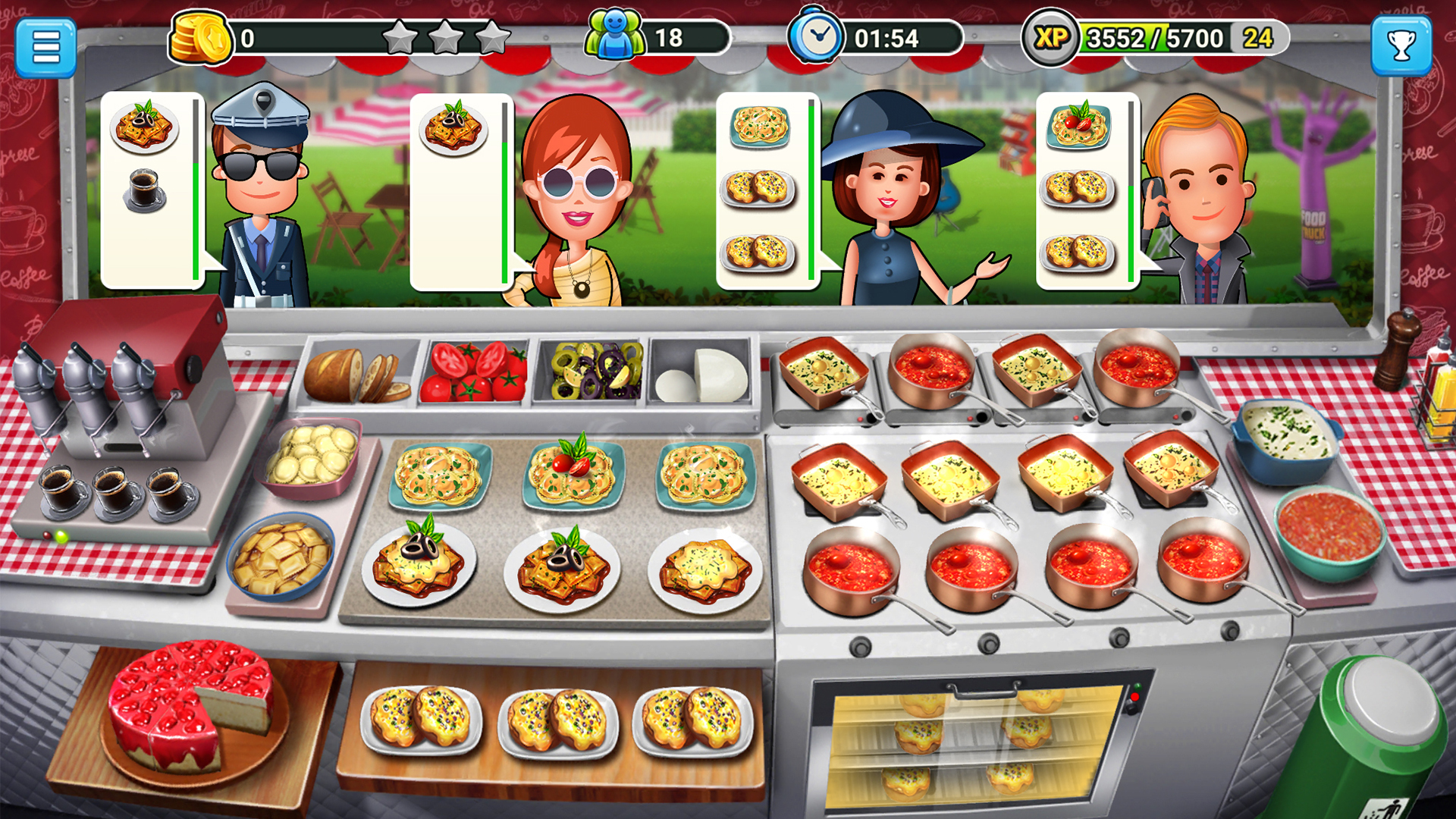 Cuisine Gameplay Tilting Point Invests 132 Million In User Acquisition For Mobile