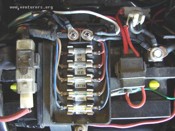 Yamaha Fuse Box technical wiring diagram