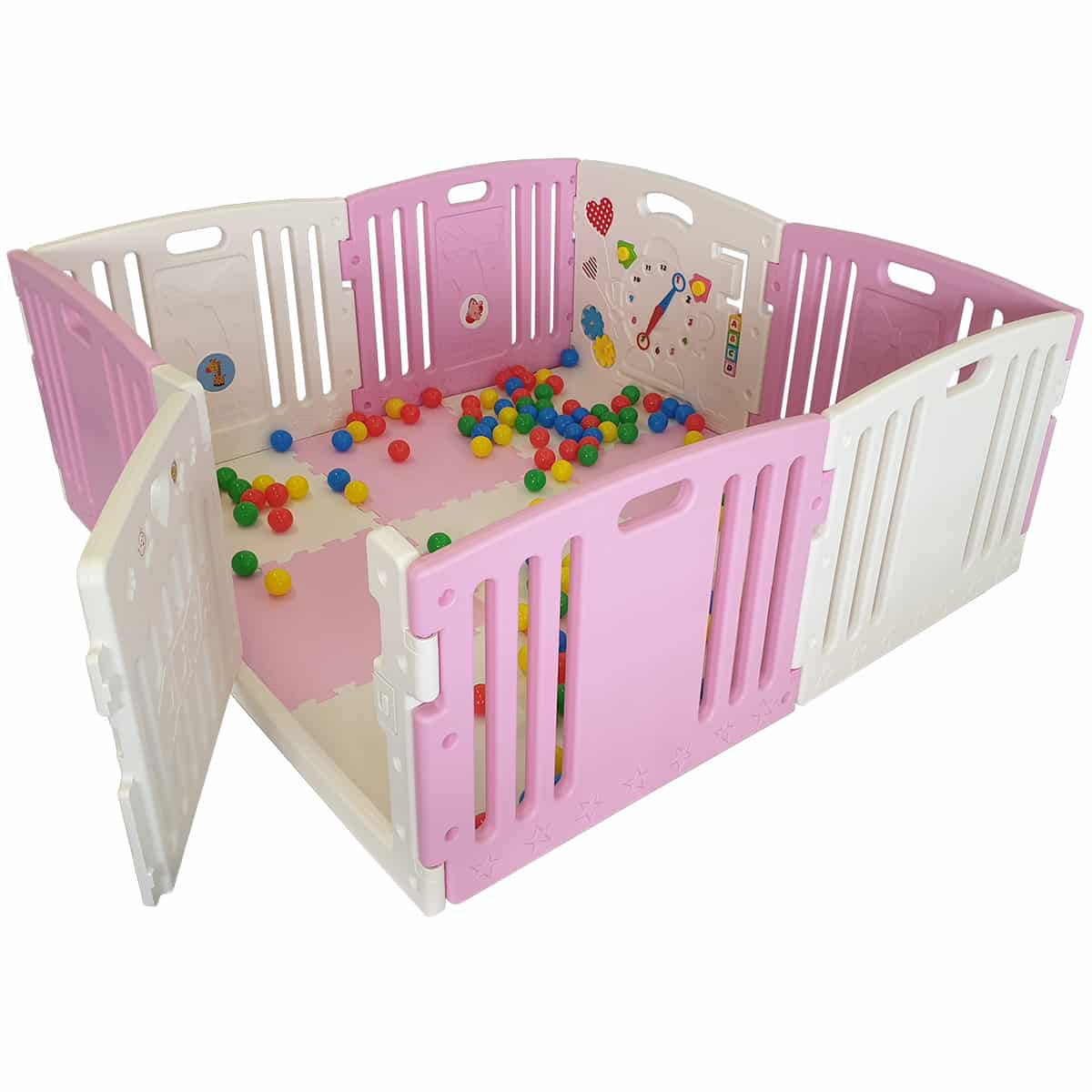 Baby Playpen How Venture All Stars Duo Baby Playpen Pink