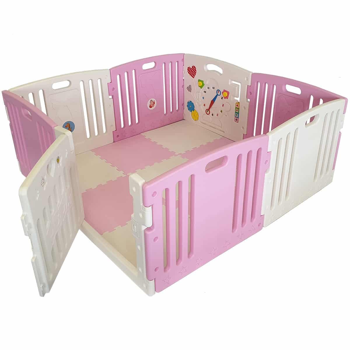 Baby Playpen Height Venture All Stars Duo Baby Playpen Pink