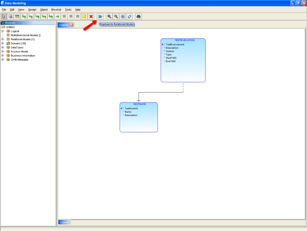 Finally a good tool for Data Modeling: Oracle SqlDeveloper Data Modeling (3/6)