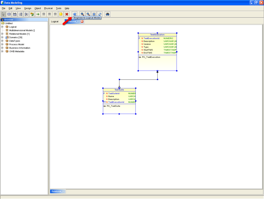 Finally a good tool for Data Modeling: Oracle SqlDeveloper Data Modeling (4/6)