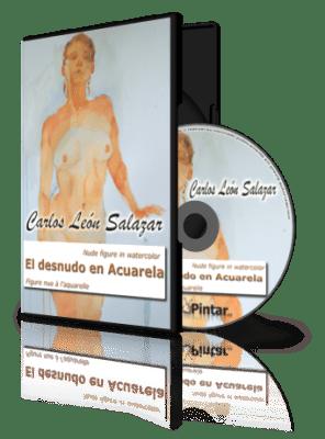 Caja y disco Carlos Leon