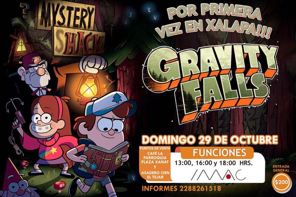 Gravity Falls Fanart Wallpaper Por Primera Ves En Xalapa Gravity Falls