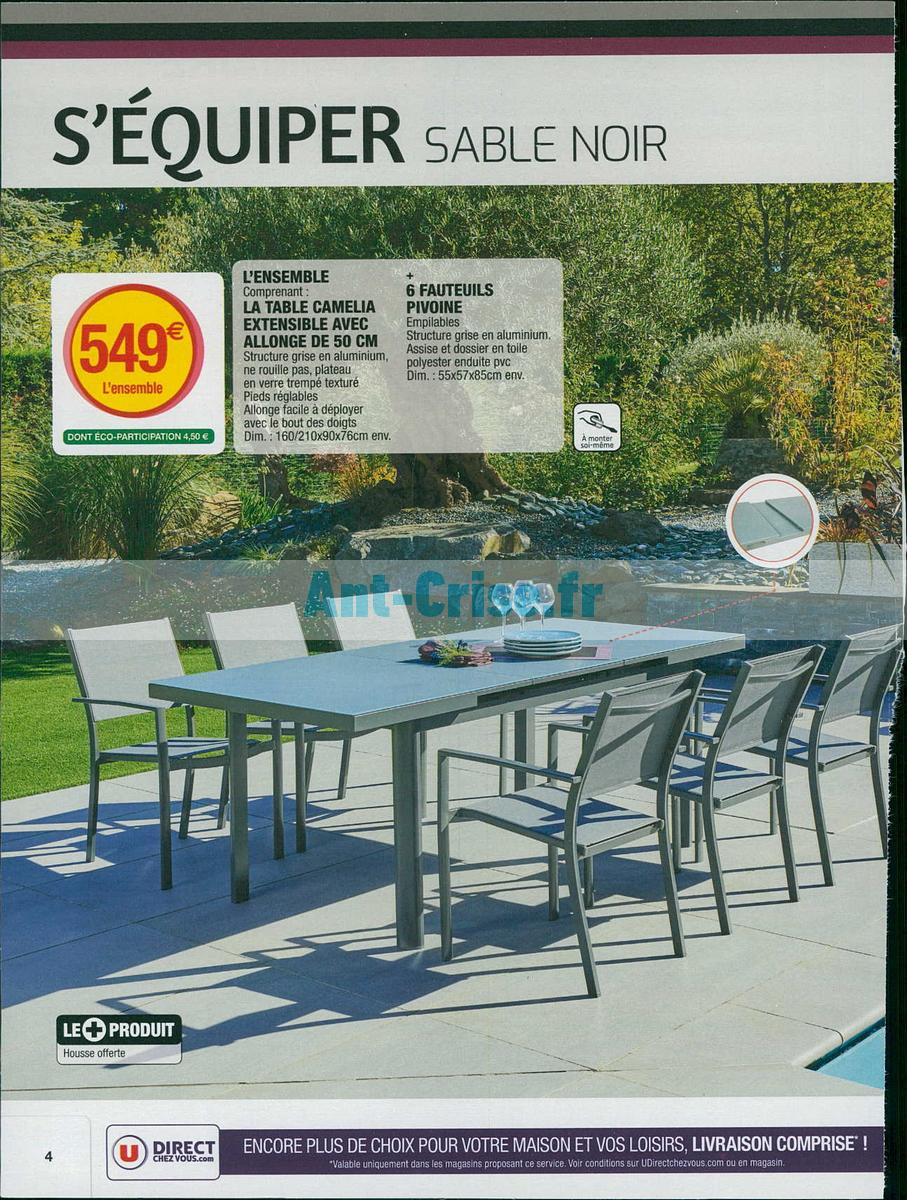 Fauteuils De Jardin Super U | Best Table Salon Jardin Super U ...