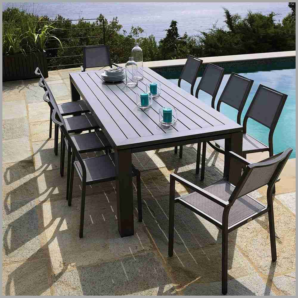 Table Chaise Jardin Pas Cher