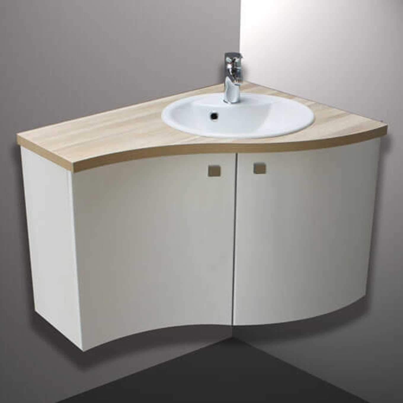 Meuble Salle De Bain D Angle Avec Vasque | Cuisine Merveilleux ...