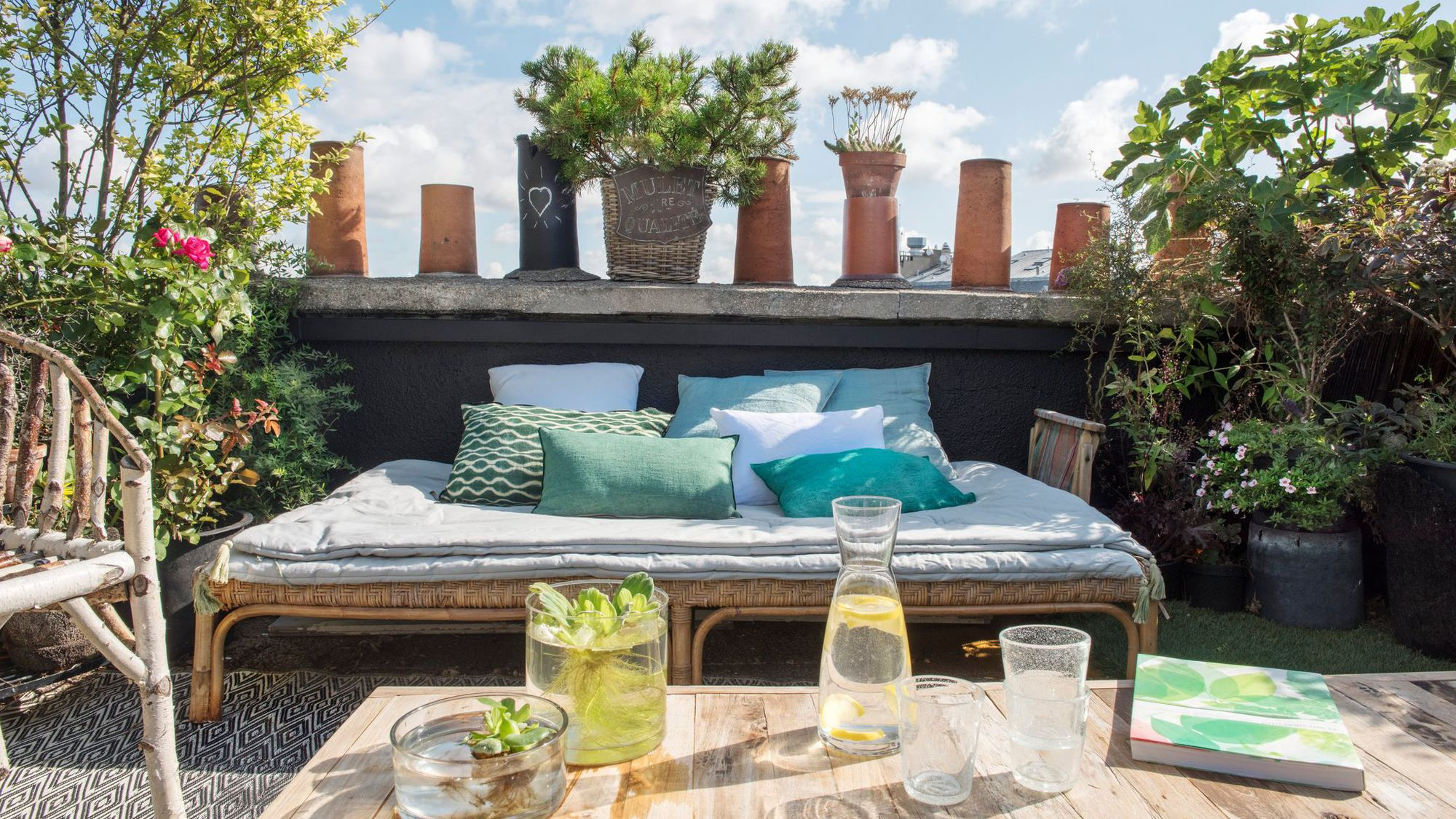 Idee Deco Pour Terrasse Jardin