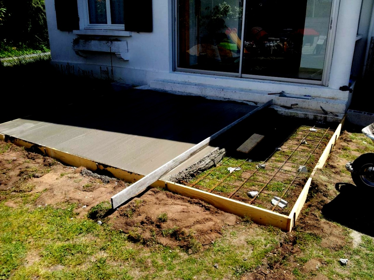 Lame Terrasse Point P Dalle Beton Pour Terrasse - Veranda-styledevie.fr