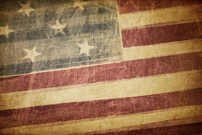 Vintage american flag grunge background \u2013 Veranda Sun Boulder