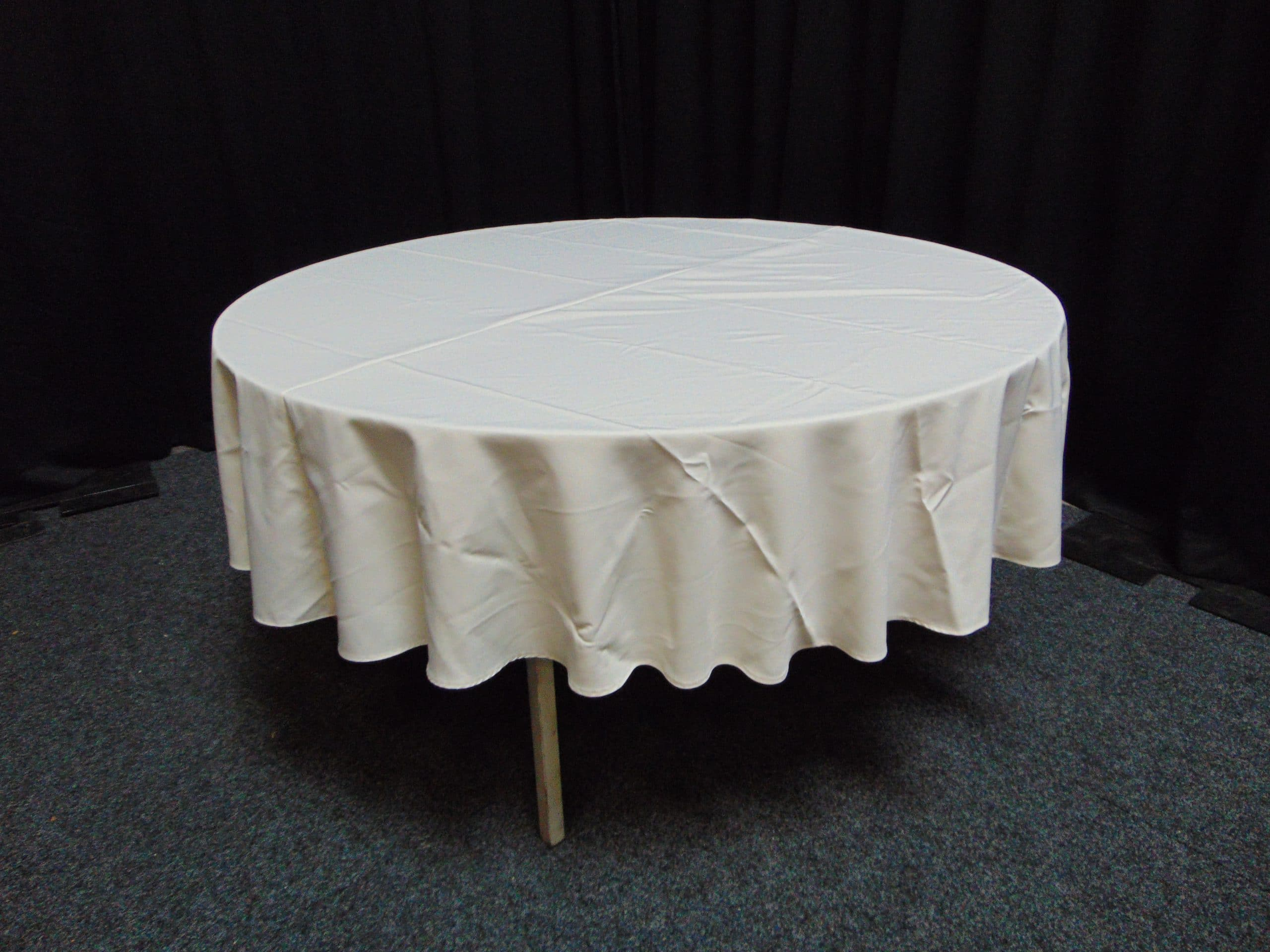 Rond 180 Topkleed Rond 180 Cm Wit