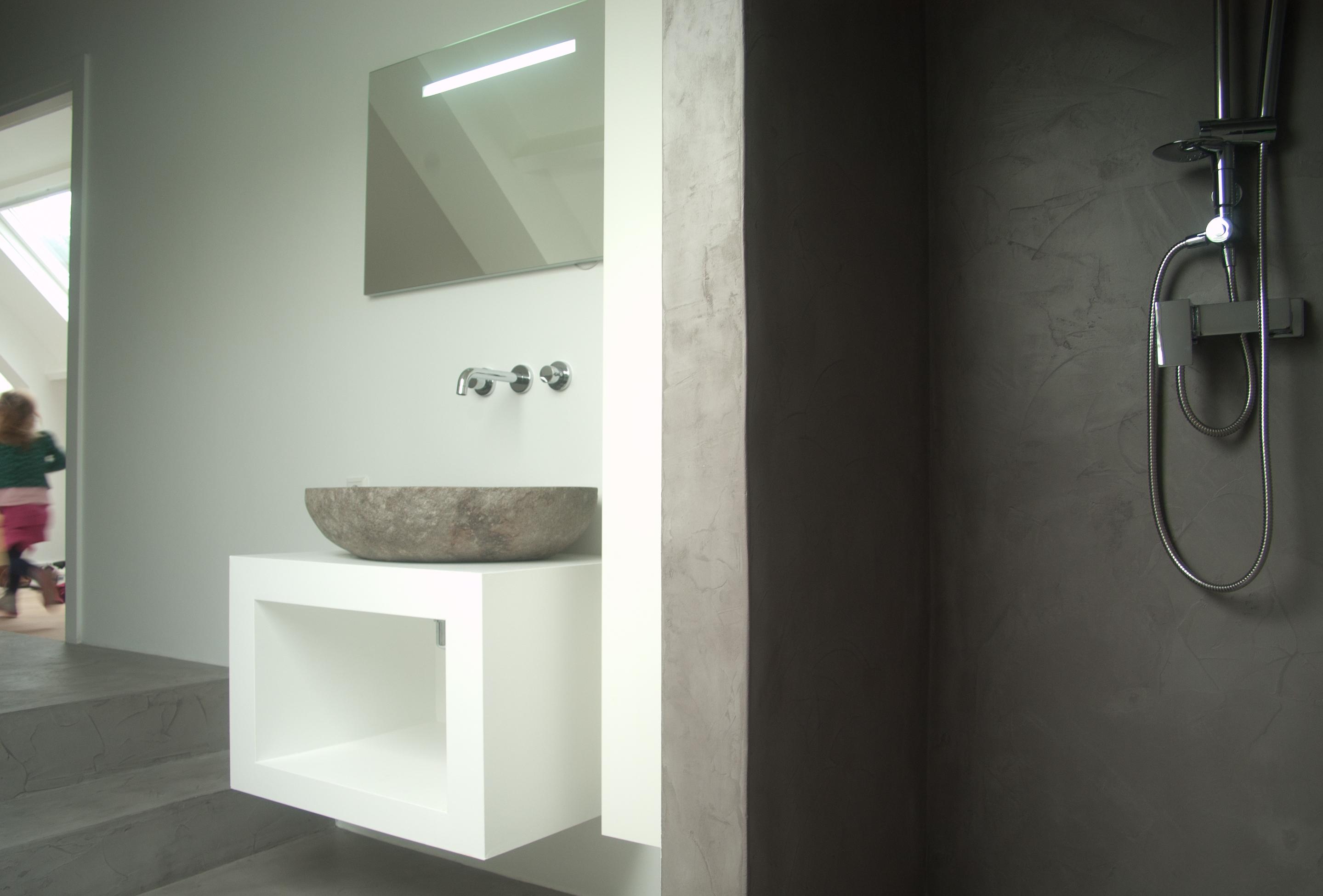 Beton In Badkamer : Badkamermeubels beton badkamer grijs beton