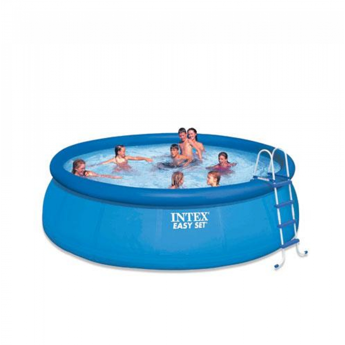 Pool Polyester Rund Round Pool Intex 457x91 Mod Easy Set Intex Piscine Above