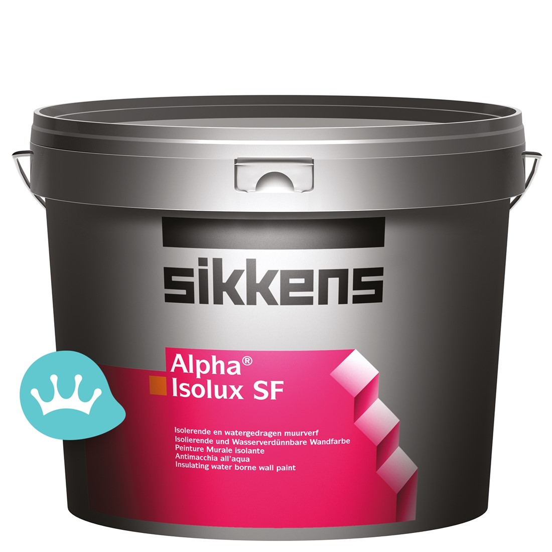 Isolerende Latex Sikkens Alpha Isolux Sf Wit 5 L