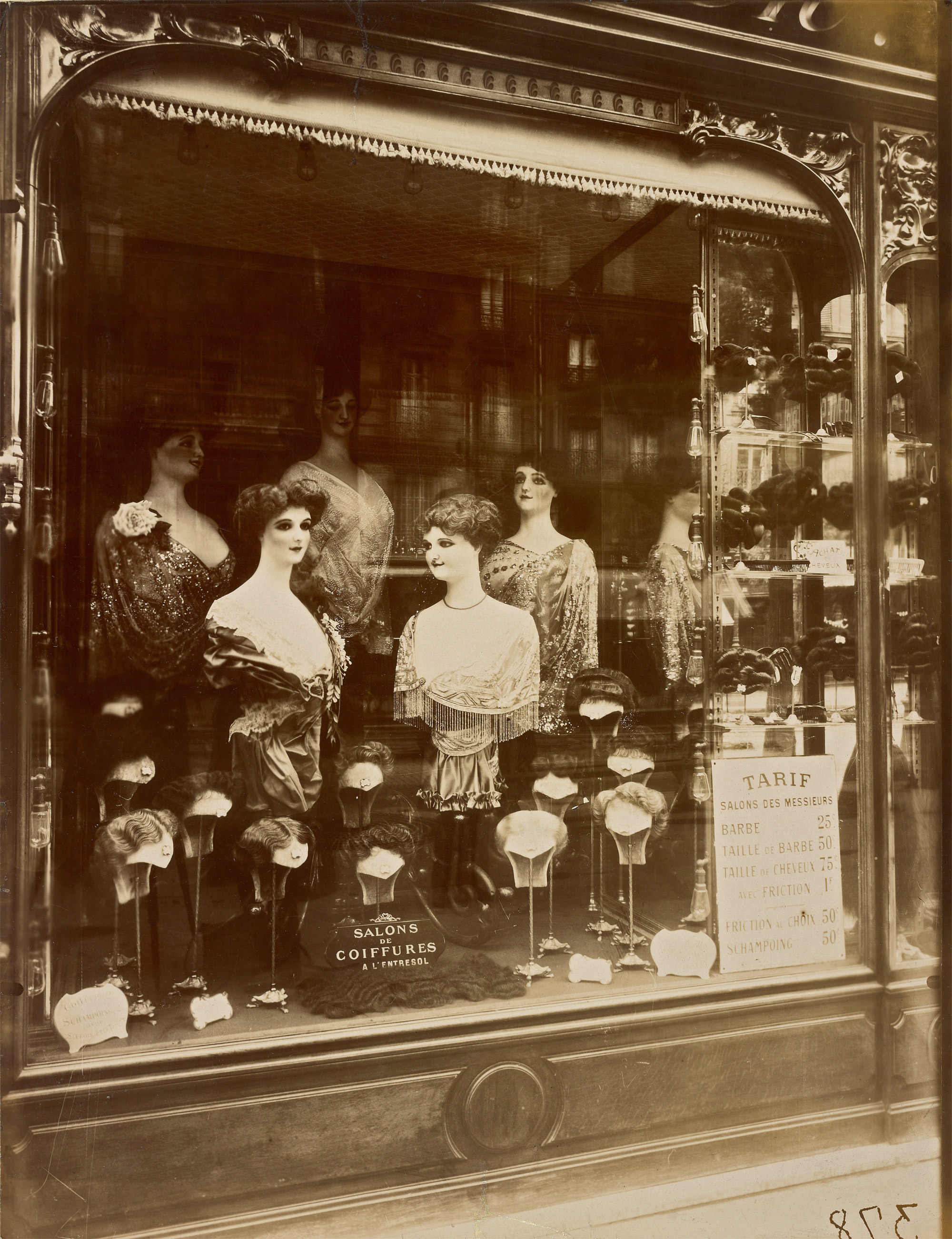 Salon Vintage Paris Salons De Coiffures 1912 Vergue