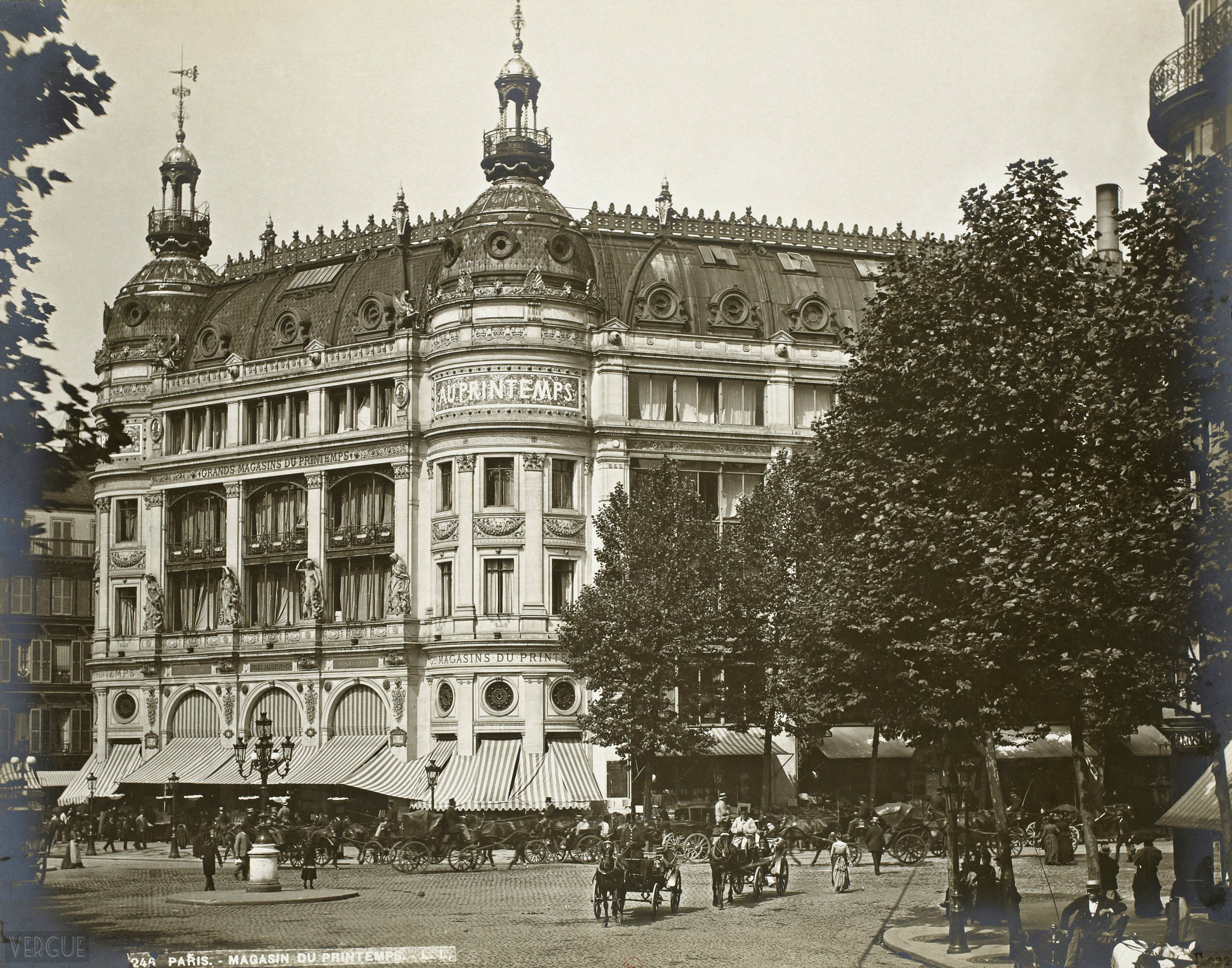 Le Printemps Paris Grands Magasins Du Printemps C 1889 Vergue