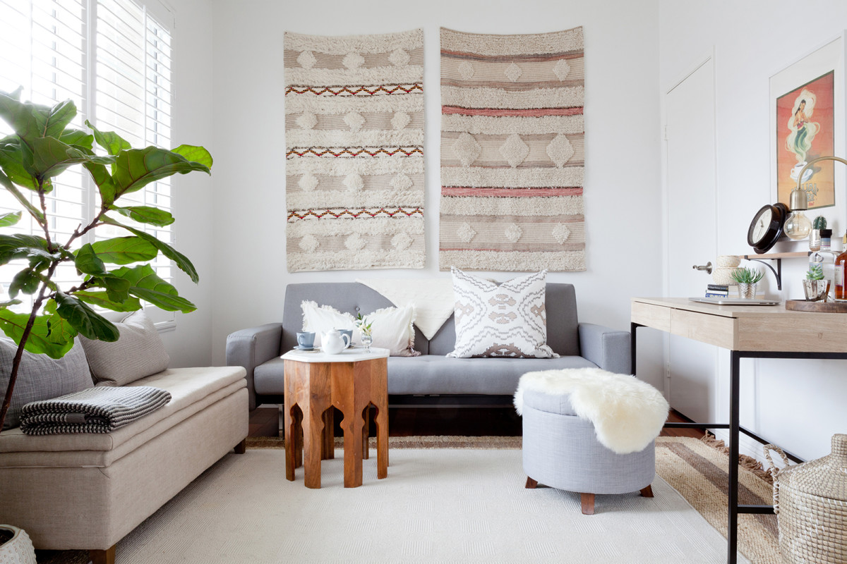 Small Space Living Room Furniture 5 Savvy Tips For Decorating A Small Space On A Budget Verily