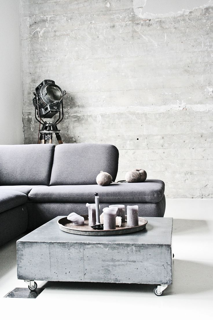 Couchtisch Beton Diy Home Decorating Diy Projects Concrete Grey Could Cover With Old