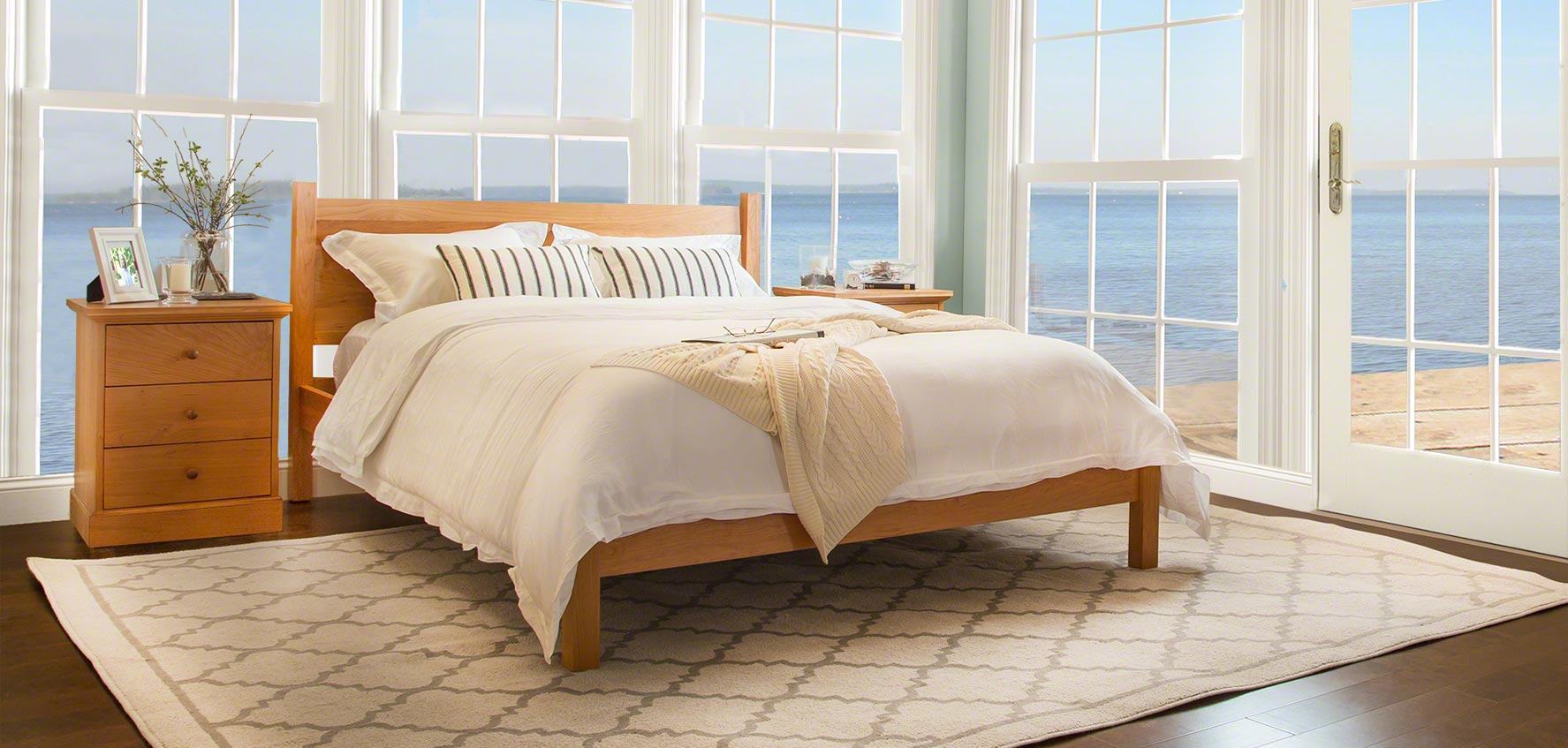 Cheap Wooden Bed Frames Handcrafted Wood Beds Vermont Woods Studios