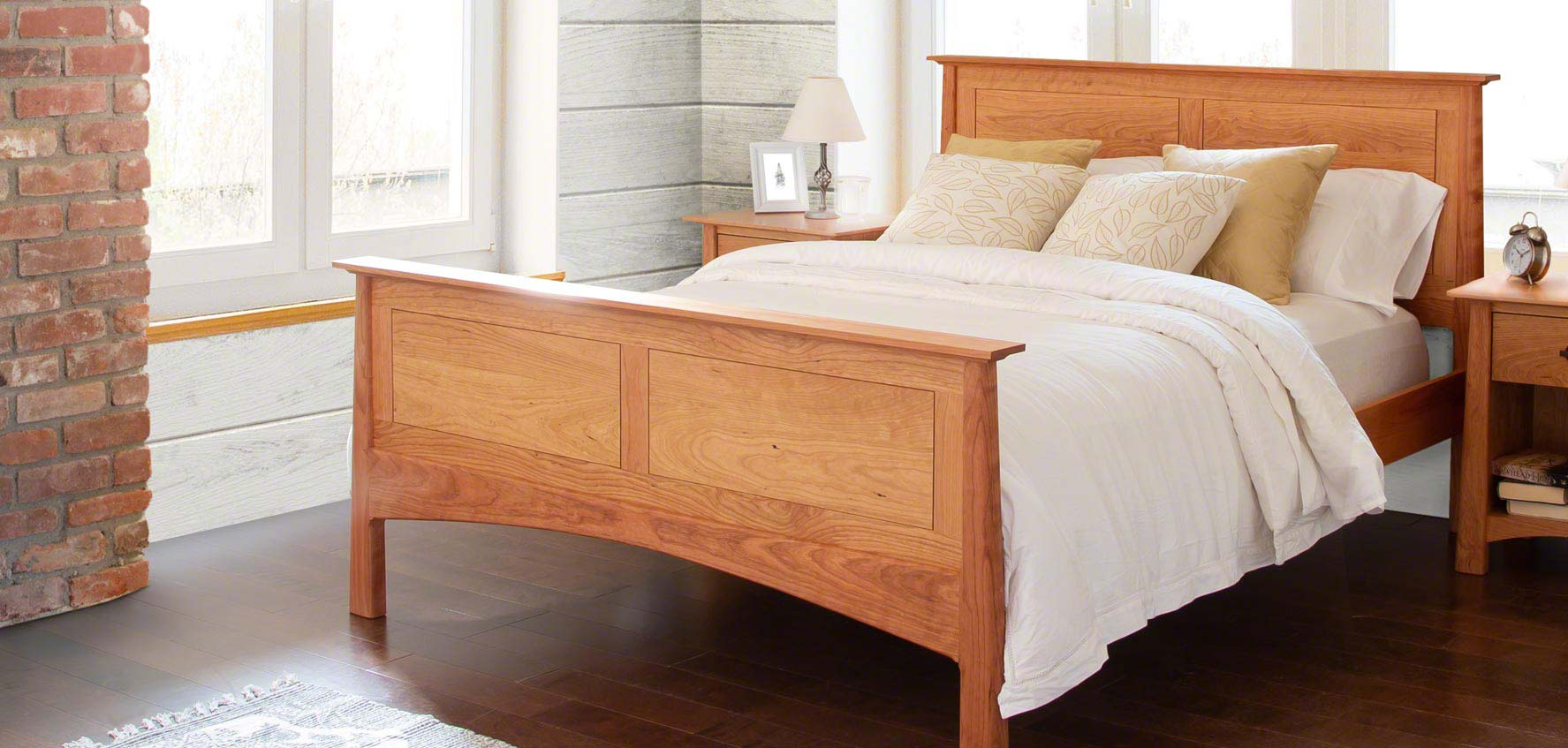 Beds And Beds Handcrafted Wood Beds Vermont Woods Studios