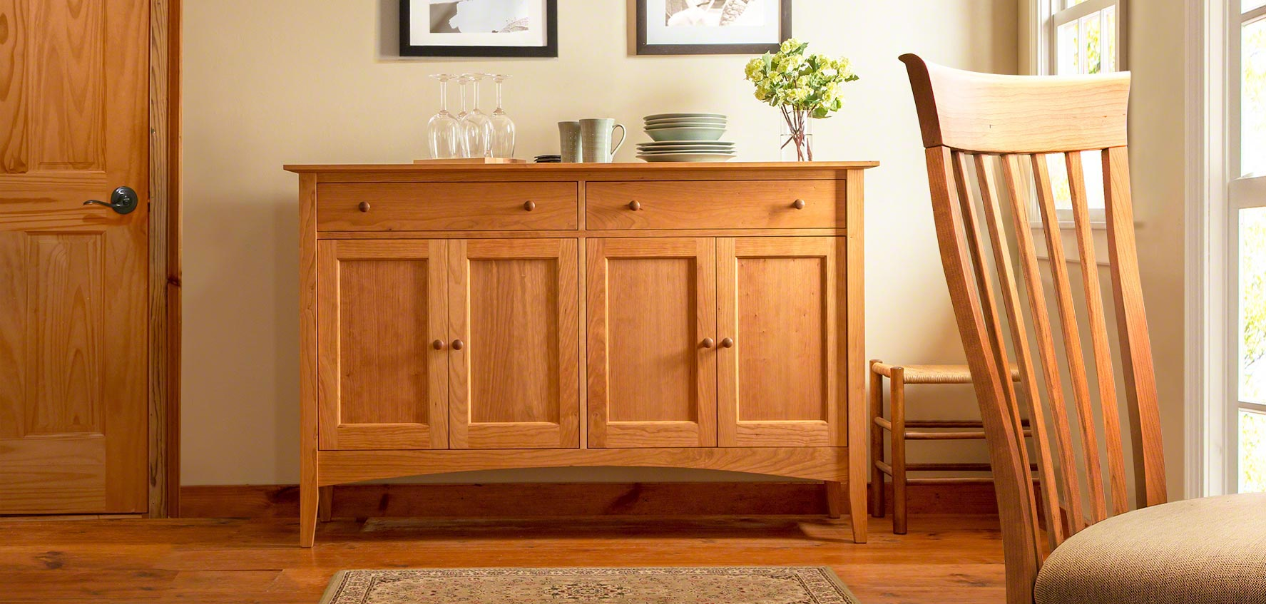 Cherry Wood Furniture Vermont Woods Studios Fine Furniture And Home Decor