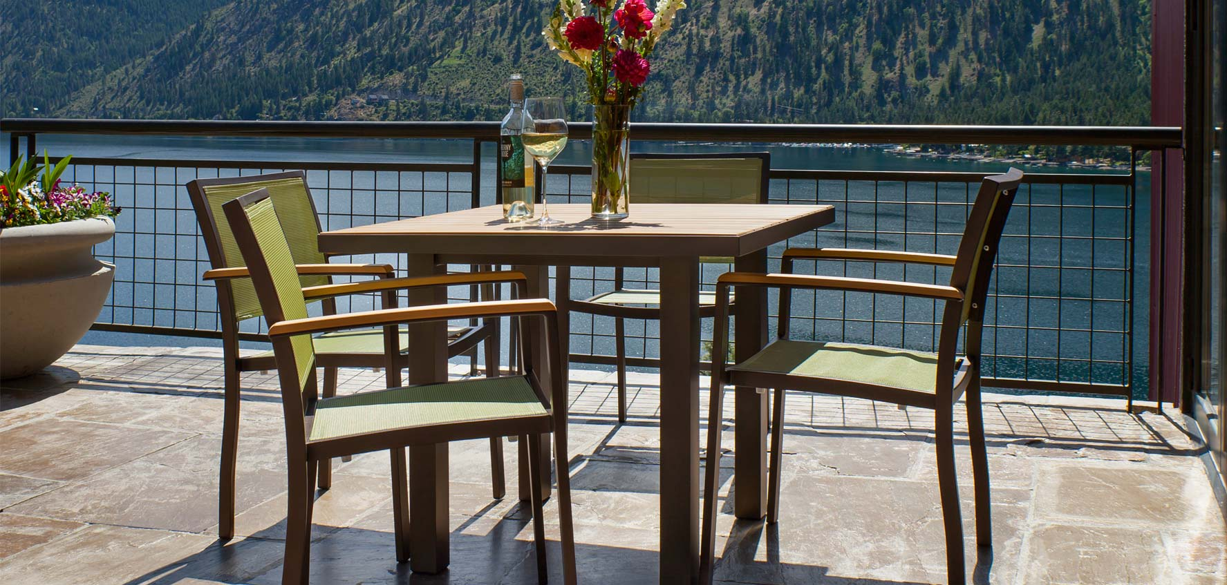 Patio Table All Weather Outdoor Patio Furniture Sets Vermont Woods Studios