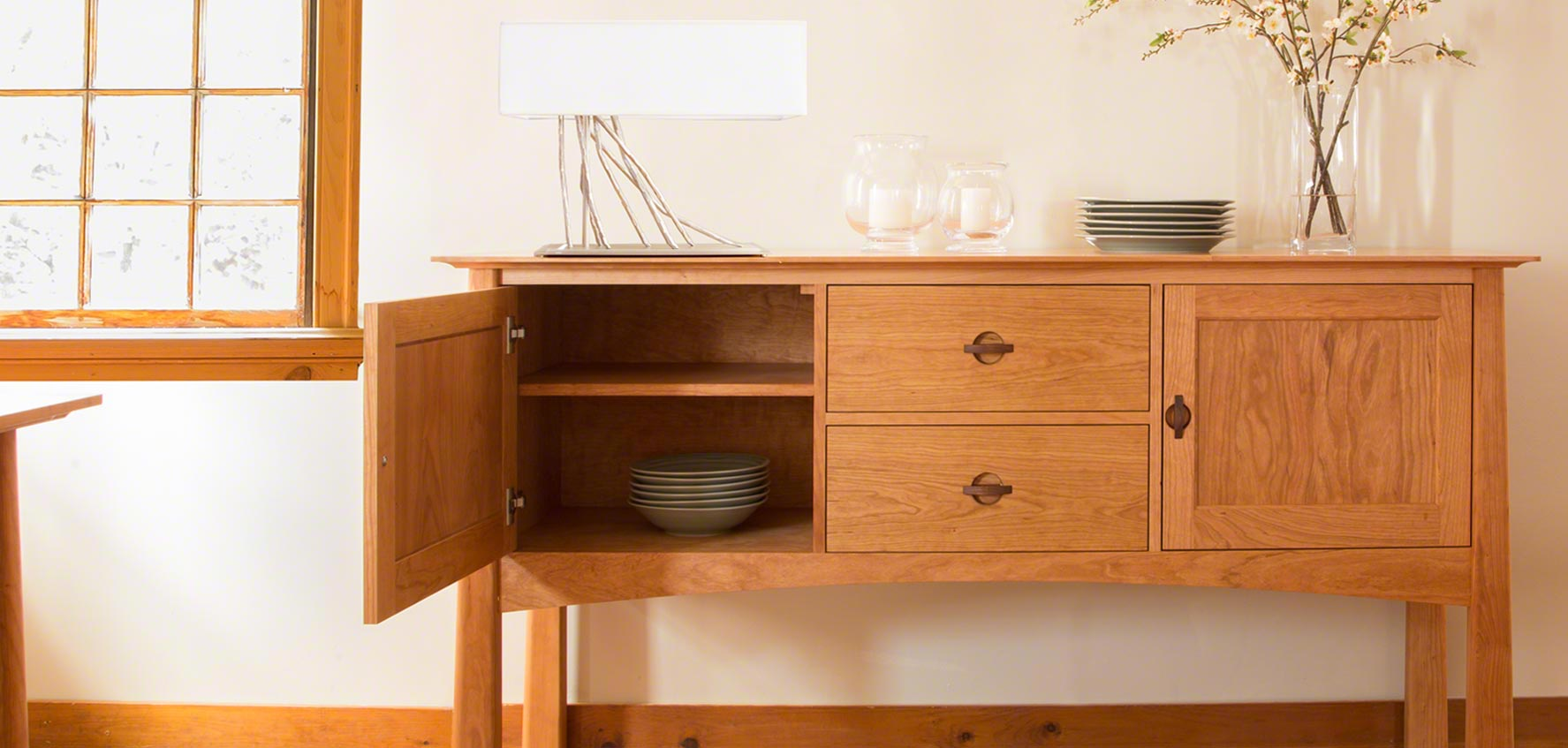 Designer Sideboards Handcrafted Wood Buffets Sideboards Vermont Woods Studios