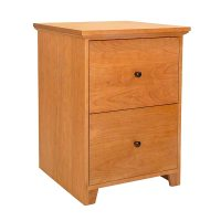 New England Shaker 2-Drawer Vertical File Cabinet ...