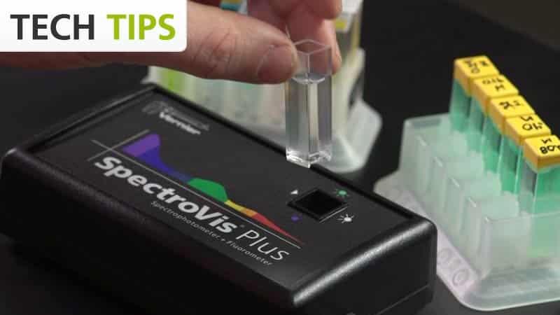 SpectroVis® Plus Spectrophotometer for Vernier Chemistry