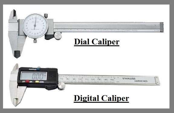 Digital Vernier Calipers  Dial Calipers Comparison - Vernier Calipers