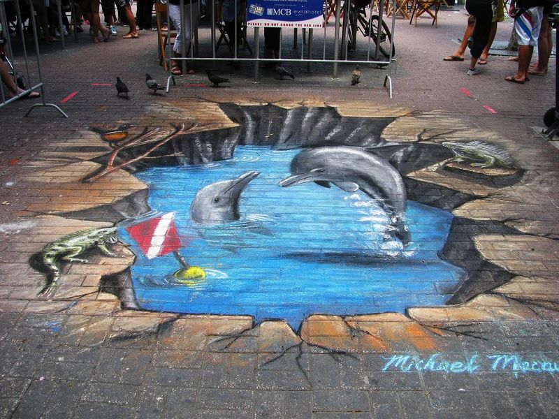 Hidden 3d Illusion Wallpapers Edgar Mueller E L Arte In 3d Vero Bellimbusto