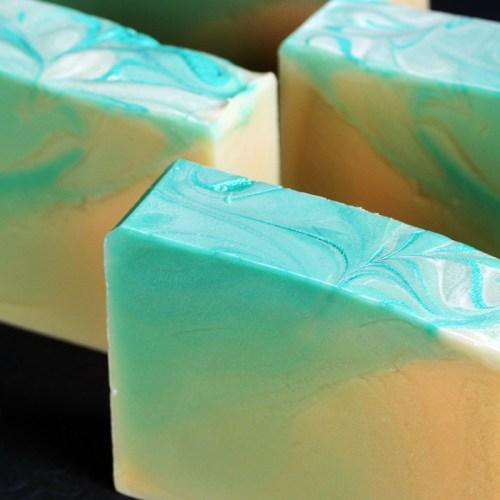Lemongrass Lime Goat Milk Soap