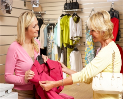 At the clothes shop Verónica\u0027s blog