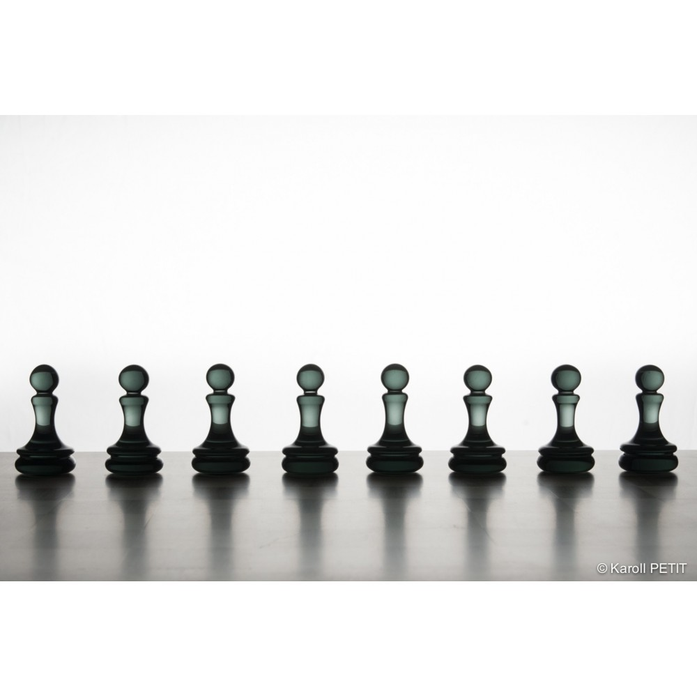 Decoration En Verre Design Pieces Chess Glass Chessgame Game Decoration High End Luxury France